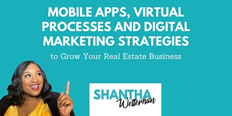 3 Hour CE - Mobile Apps, Virtual Tools, and Digital Marketing for Agents tickets