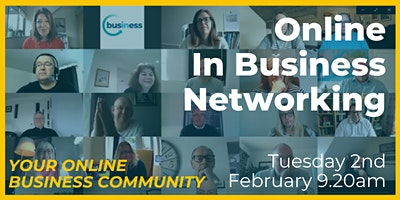 Online In Business Networking Event