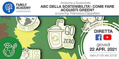 L'ABC DELLA SOSTENIBILITA': COME FARE ACQUISTI GREEN