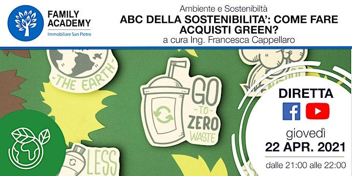 Immagine L'ABC DELLA SOSTENIBILITA': COME FARE ACQUISTI GREEN