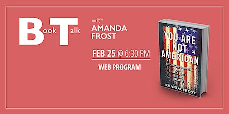 Book Talk with Amanda Frost tickets
