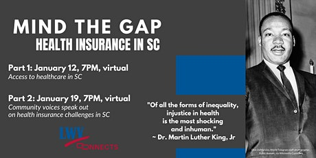 Mind the Gap: Health Insurance in SC, Part 2 tickets