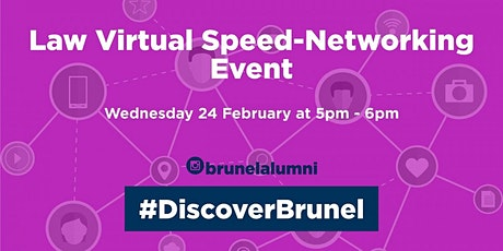 Law Speed-Networking Event tickets