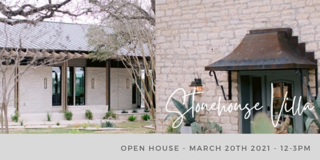 Stonehouse Villa: March Open House tickets