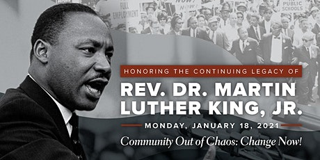 Colorado Springs MLK Day Community Events 2021 tickets