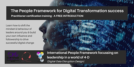 The People Framework for Digital Transformation tickets