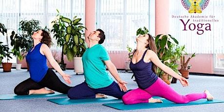 Kostenlose ONLINE Yoga-Probestunde montags ab 19 Uhr Tickets