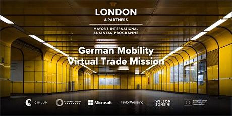 Mobility Virtual Trade Mission to Germany tickets