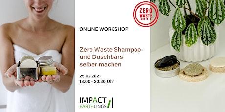 ONLINE Workshop: Zero Waste Shampoo- und Duschbars selber machen Tickets