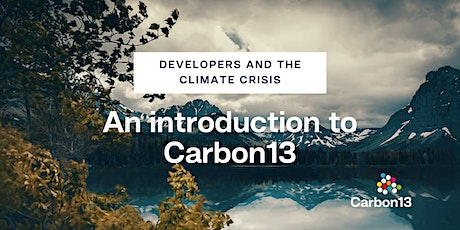 Developers and the climate crisis: an introduction to Carbon13 tickets