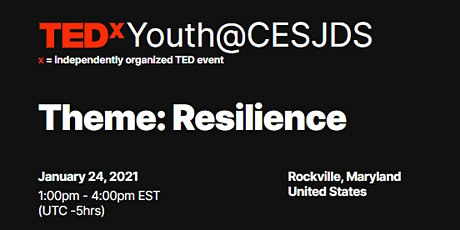 TEDxYouth@CESJDS Conference tickets