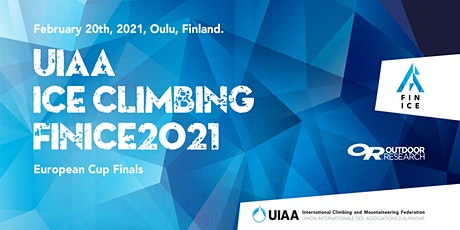 FINICE2021: Iceclimbing European Cup & Finnish Championships tickets