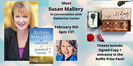 Susan Mallery Virtual Event tickets