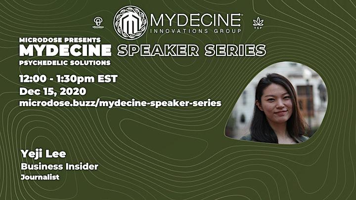 Mydecine Speaker Series - Psychedelic Solutions image