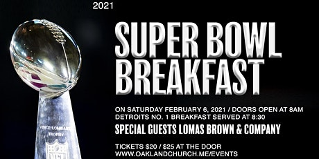 Men's Super Bowl Breakfast tickets