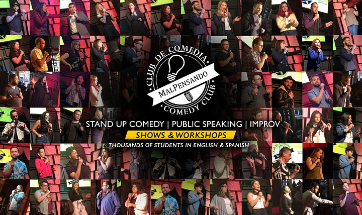 Public Speaking through Comedy | Online | Workshop (Level 3) image