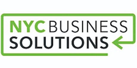 WEBINAR | First Step to Starting a Business ,BROOKLYN, 02/1/2021 tickets