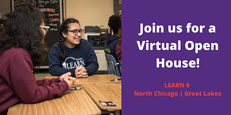 Virtual Open House at LEARN 6 Campus North Chicago | Great Lakes tickets