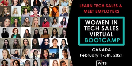 Women in Tech Sales Bootcamp (Virtual) - February 2021 tickets