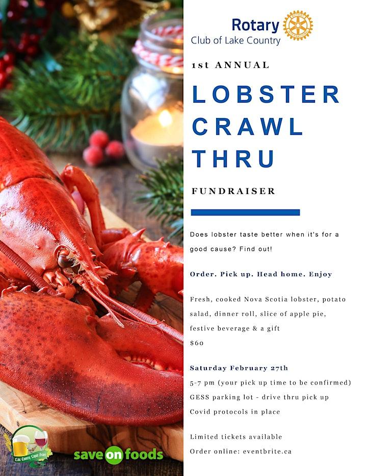 Lobster Crawl Thru Fundraiser image