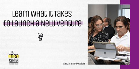 Learn What it Takes to Launch a New Venture tickets
