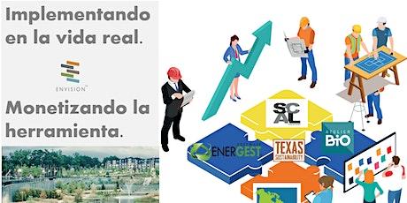 Webinar: Induccion a la innovacion en  Infraestructura Sostenible:ENVISION entradas