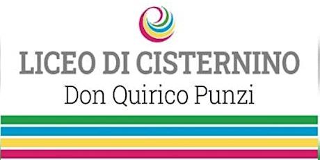 Open day 24/01/2021 - 11:15 - Liceo Cisternino tickets