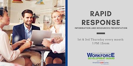 Rapid Response Presentation tickets