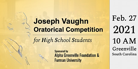 2021 Joseph Vaugh Oratorical Final Competition tickets