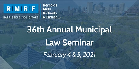 36th Annual Municipal Law Seminar tickets