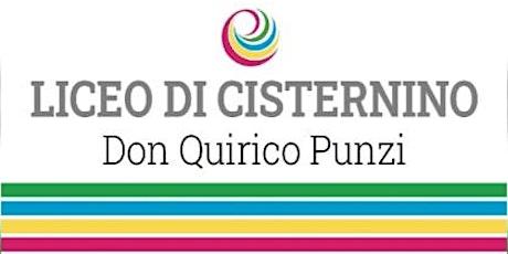 Open day 29/01/2021 - 18:45 - Liceo Cisternino biglietti