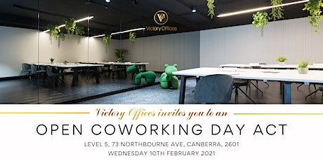 Victory Offices | Open Coworking Day | Canberra tickets