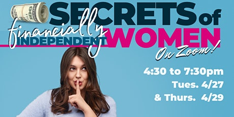 Secrets of Financially Independent Women tickets
