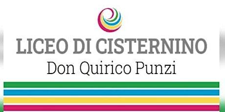 Open day 16/01/2021 - 11:45- Liceo Cisternino biglietti