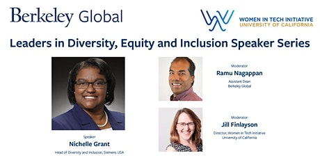 Conversation with Nichelle Grant, Diversity, Equity and Inclusion, Siemens tickets