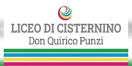 Open day 17/01/2021 - 10:45- Liceo Cisternino biglietti