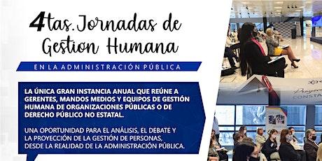 4tas. Jornadas de Gestión Humana en la Administración Pública entradas