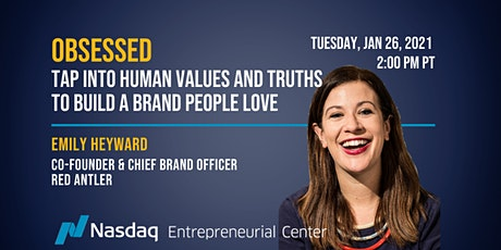 OBSESSED: Tap into Human Values and Truths to Build a Brand People Love tickets