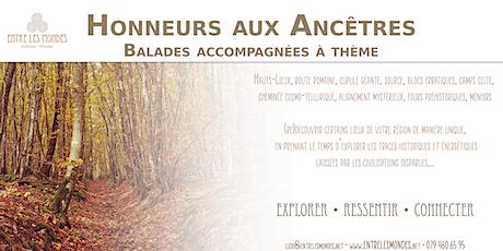 Honneur aux Ancêtres - Balade accompagnée à thème billets