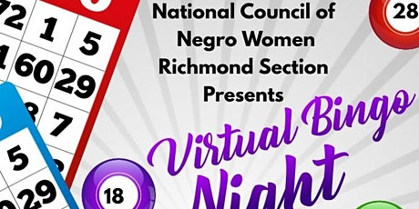Virtual Bingo (Presented by NCNW Richmond Section) tickets