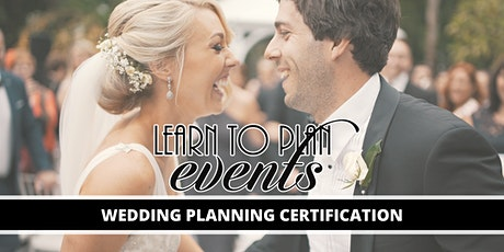 Wedding Planning Certification by LEARN TO PLAN EVENTS | Online tickets
