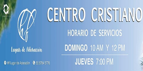 "Registro - 2do Culto de ""PRIMICIAS"" Domingo 17 Enero 2021 boletos"