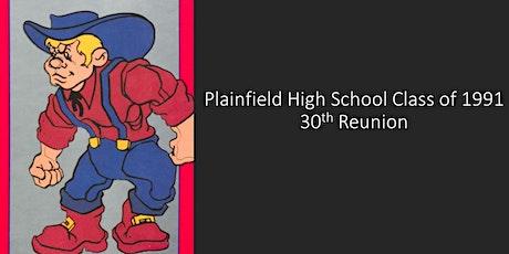 Plainfield High School Class of 1991 30th Reunion tickets