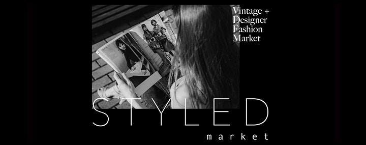 NEW VENUE! Styled Market #12 Adelaide Vintage Fashion Market in the CBD! image