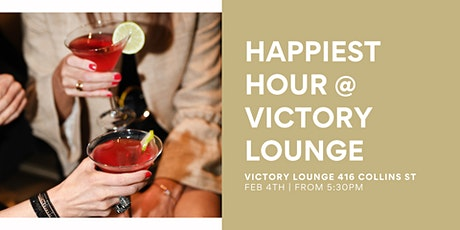 HAPPIEST HOUR @ VICTORY LOUNGE tickets