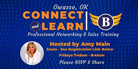 OK | Owasso Networking & Sales Training tickets