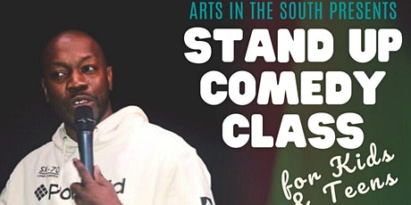 Stand Up Comedy for Kids & Teens | Arts in the South tickets