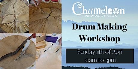Healing Drum Making Workshop tickets
