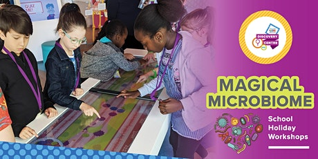 Magical Microbiome - Telethon Kids January School Holiday Workshop tickets