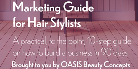 Marketing Mondays - Marketing Class for Hair Stylists - One-On-One Session Tickets